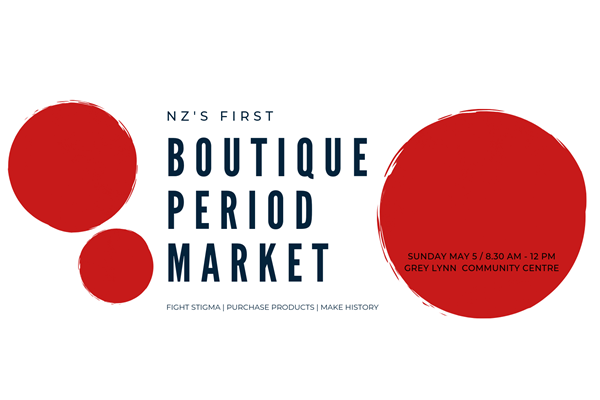 Help us bring NZs first period market to life - event volunteers needed!