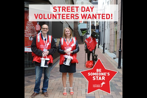 Team Event Volunteering: Be someone's star by volunteering at the Wellington City Mission Street Day