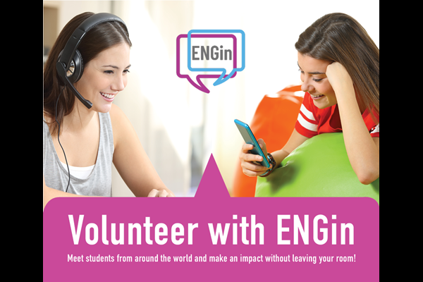 Volunteer Online: Help Foreign Students Learn English