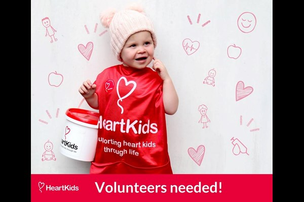 Heart Kids volunteer roster sheet